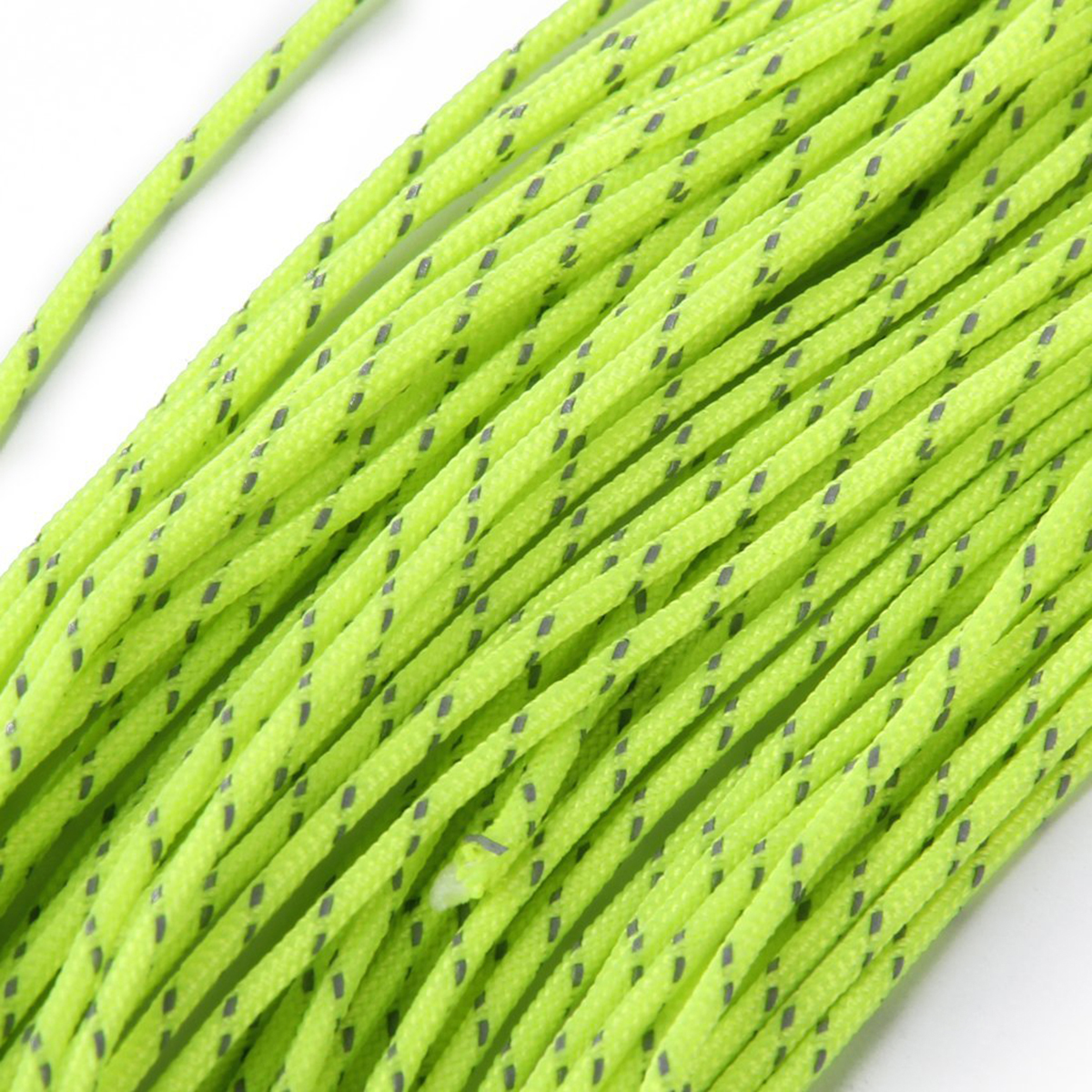 Green Reflective Rope Camping Cord Multi-Function Windproof Canopy New