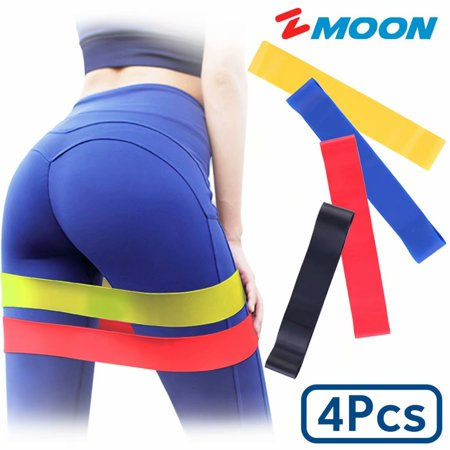 Loop Resistance Bands with Different Strength Levels ,Elastic Exercise Bands strengthen biceps triceps chest shoulders thighs legs buttocks and