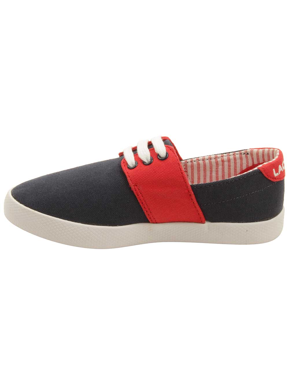 6f837ce2d5c4f Lacoste - Lacoste Toddler Fairchampe Lace Up 117 Sneakers in Navy Red -  Walmart.com