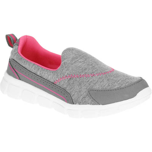 Danskin Now Girls' Memory Foam Slip-on Athletic Shoe by