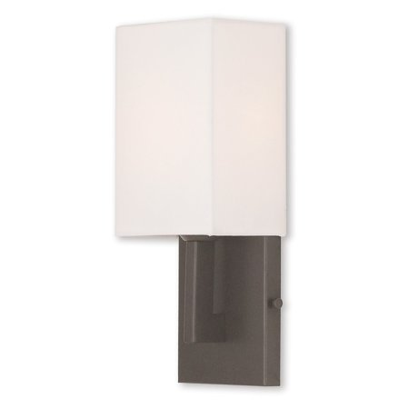Ada Wall Sconce Height (Livex Lighting Hollborn 1 Light ADA Wall Sconce )