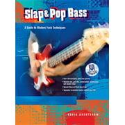 Slap & Pop Bass: A Guide to Modern Funk Techniques, Book & CD (Paperback)