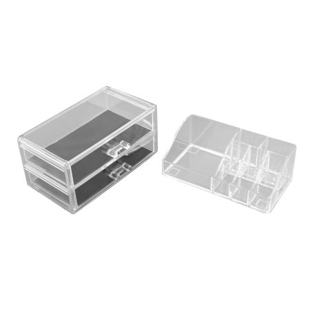 3-Tier Acrylic Makeup Case Cosmetic Display Organizer Storage Box Holder