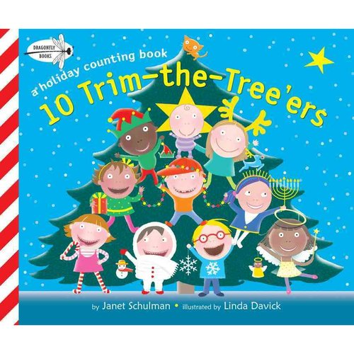 10 Trim-the-Tree'ers: A Holiday Counting Book