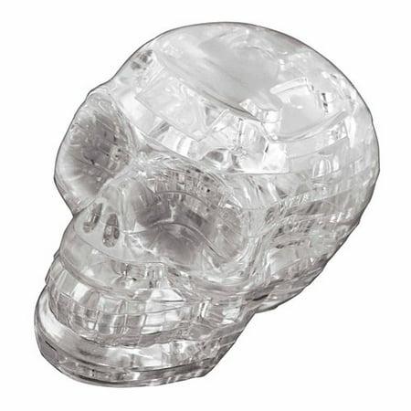 Original 3D Crystal Puzzle - Clear Skull - 3d Halloween Games