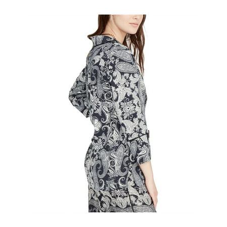 Rachel Roy Womens Pajama-Inspired Knit Blouse blkport XL - image 1 de 1