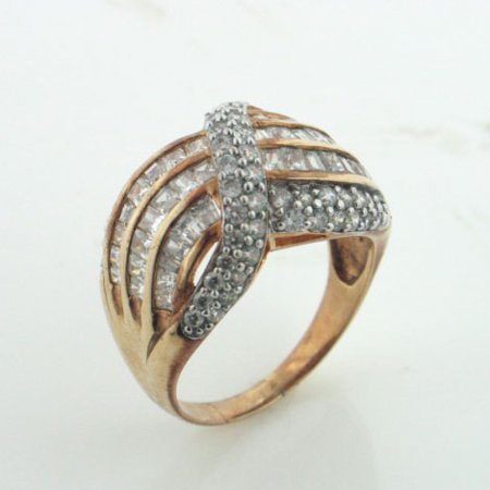 Gold over Sterling Silver Vermeil Absolute Band Ring