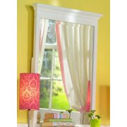 Birch Hardwood Mirror for Dresser or Wall Mounting (Chestnut)