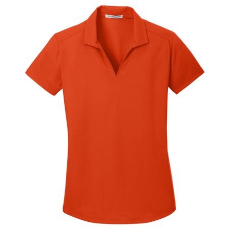 Port Authority Women's Durable Dry Zone Grid Polo Shirt Girls L/s Polo
