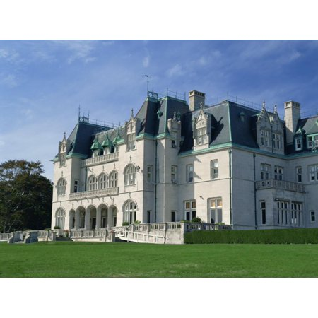 Marble House, Built in 1892 for William K. Vanderbilt, Newport, Rhode Island, New England, USA Print Wall Art By Fraser