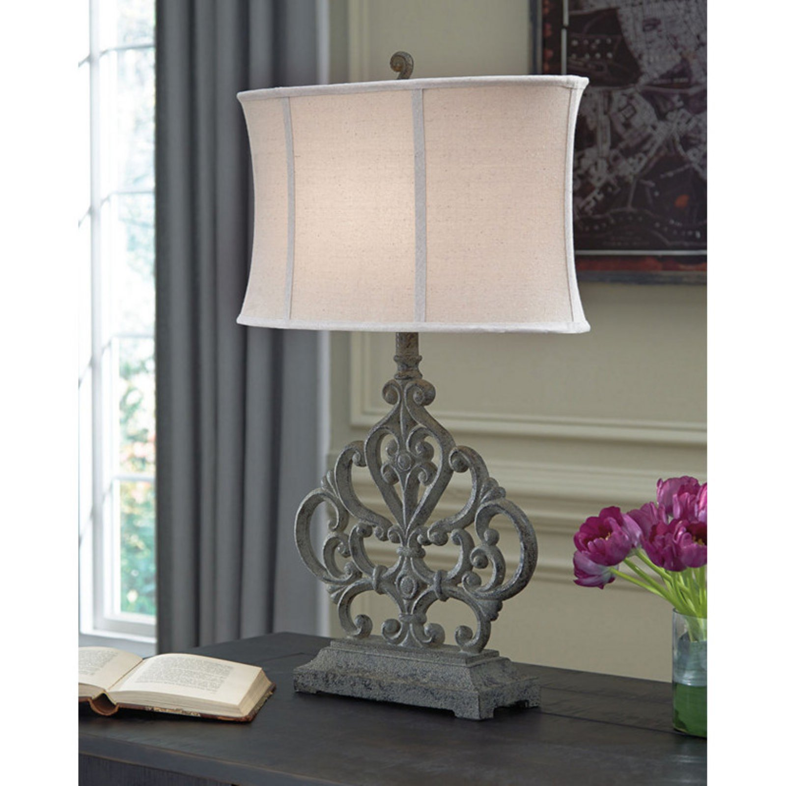 Signature Design by Ashley Broderick Poly Table Lamp