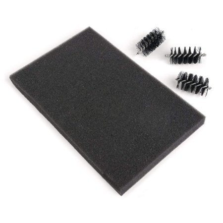 660514 Accessory Replacement Brush Heads & Foam Pad, Removes excess paper in all brands of wafer-thin, chemically-etched dies By Sizzix