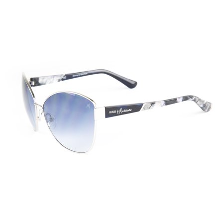 Marciano by GUESS Women's Metal Butterfly Sunglasses GM703 62mm (Guess Sunglasses By Marciano)