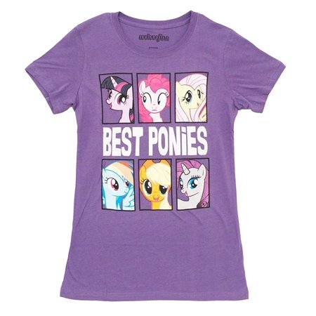 My Little Pony Best Ponies Character Frames Juniors Grape Purple