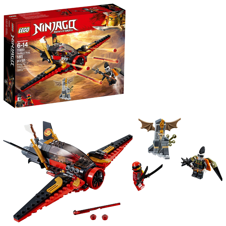 LEGO Ninjago Masters of Spinjitzu: Destiny's Wing 70650 (181 Pieces)