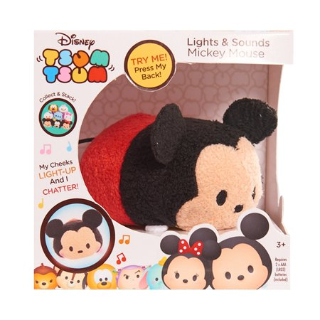 Disney Lights   Sounds Mickey Plush  Import Lites Dino Store Birthday Ktv Dream Ariel Stage Story Dog 11 12 13 Small Rapunzel Sound Come Hot Xmas Mickey 3 Animal    By Tsum Tsum