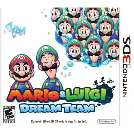Nintendo Mario   Luigi  Dream Team 3Ds Game   Nintendo 3Ds Compatible  E Rating  10  Age Group