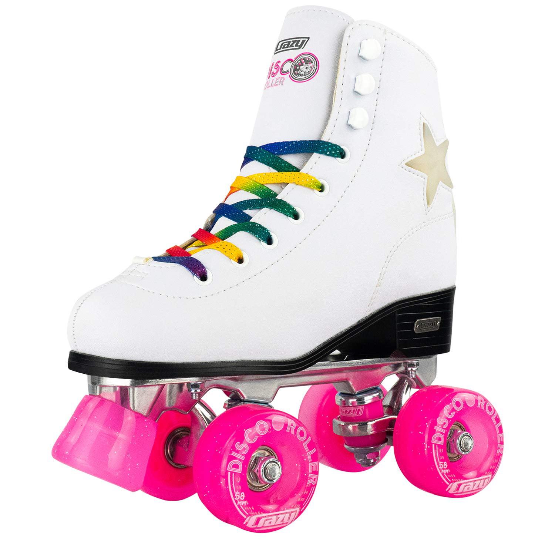 6 x Roller Skate Disco Retro Party Friendship Bracelets Kids Birthday Favours