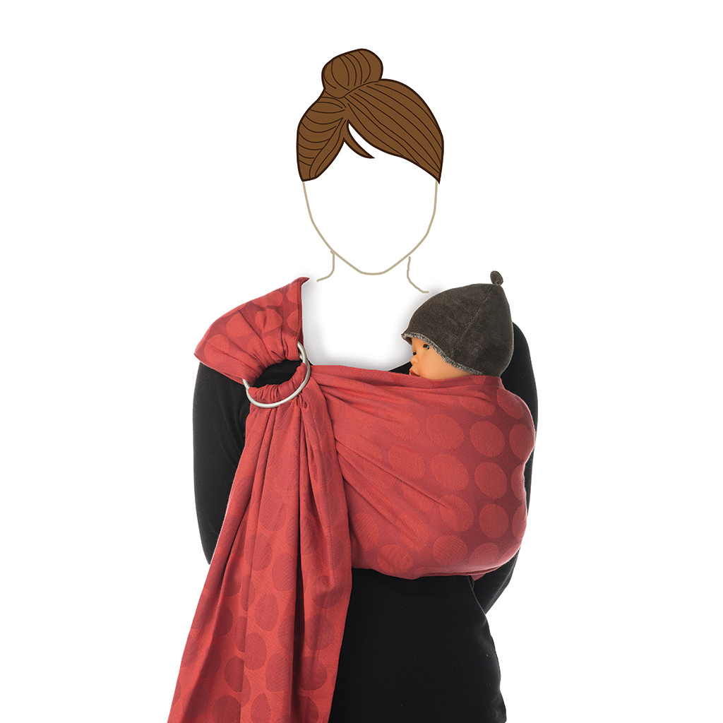 Babylonia Baby Carrier - BB Sling Chili