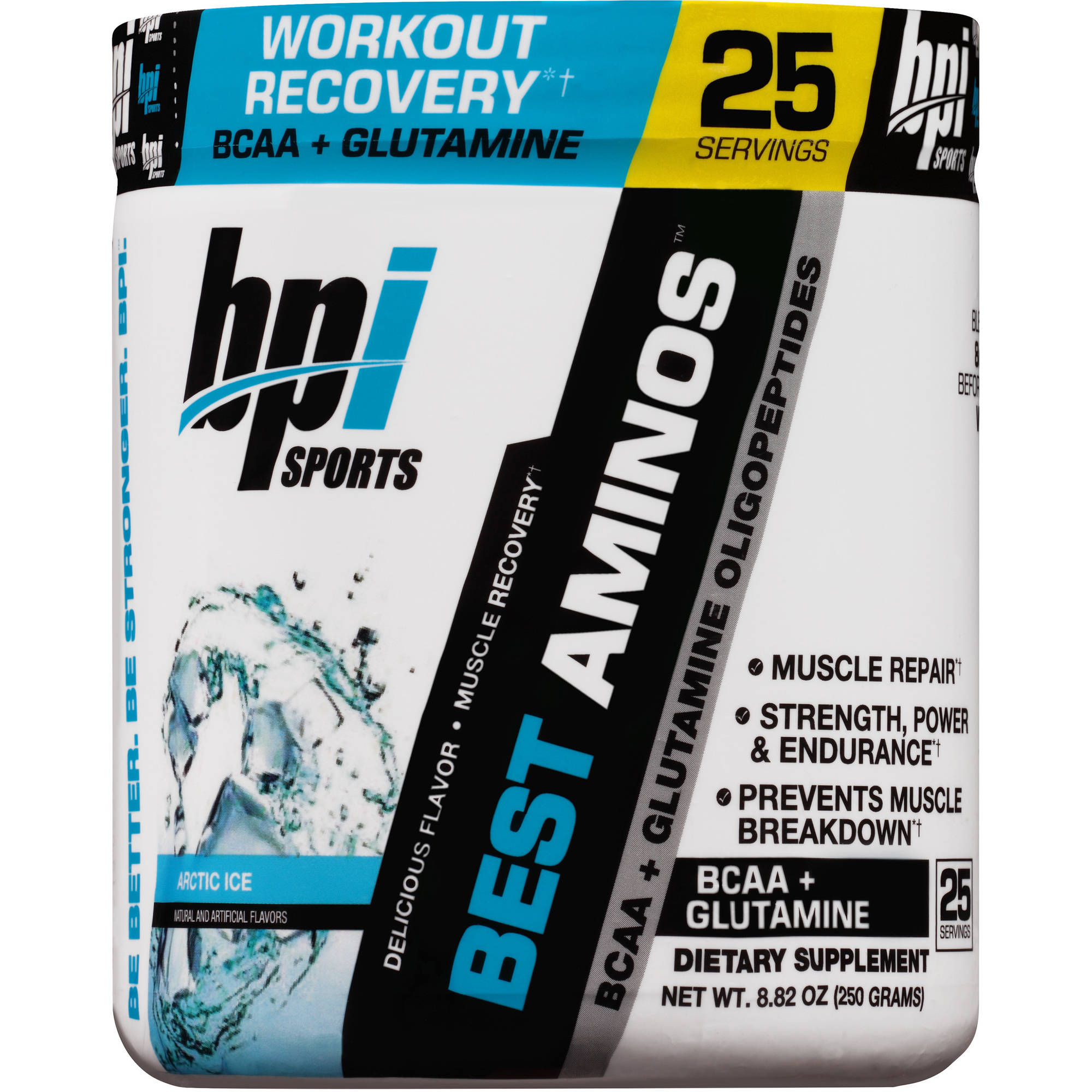 BPI Sports Arctic Ice Best Aminos Dietary Supplement Powder, 8.82 oz