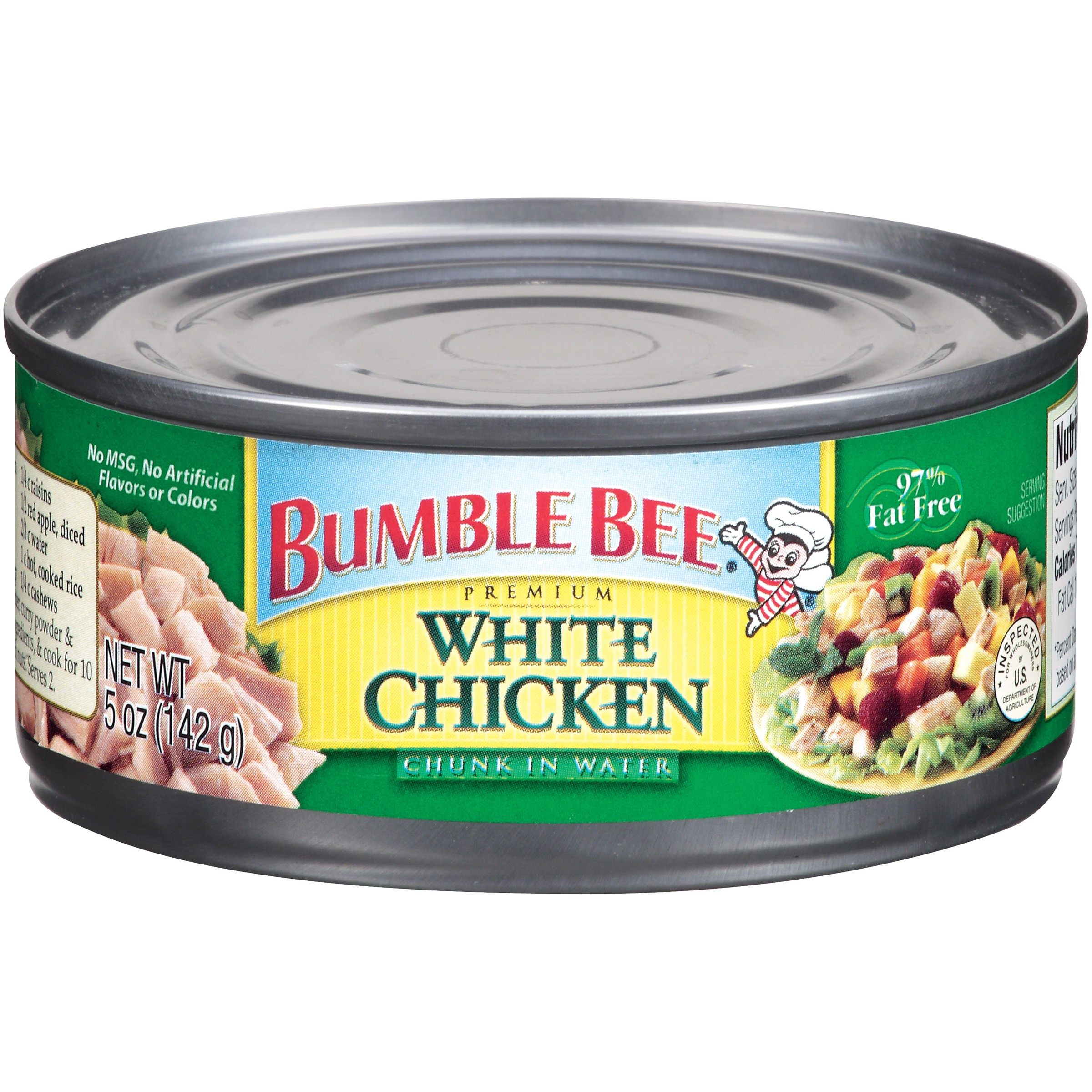 Bumble Bee Premium Chunk White Chicken in Water, 5 oz Can
