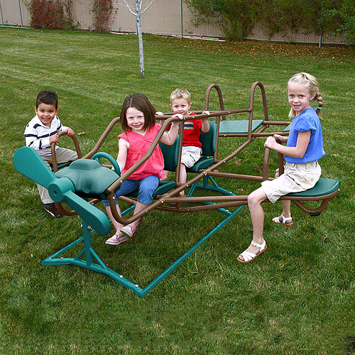 Lifetime Ace Flyer Teeter Totter, Earthtone Colors