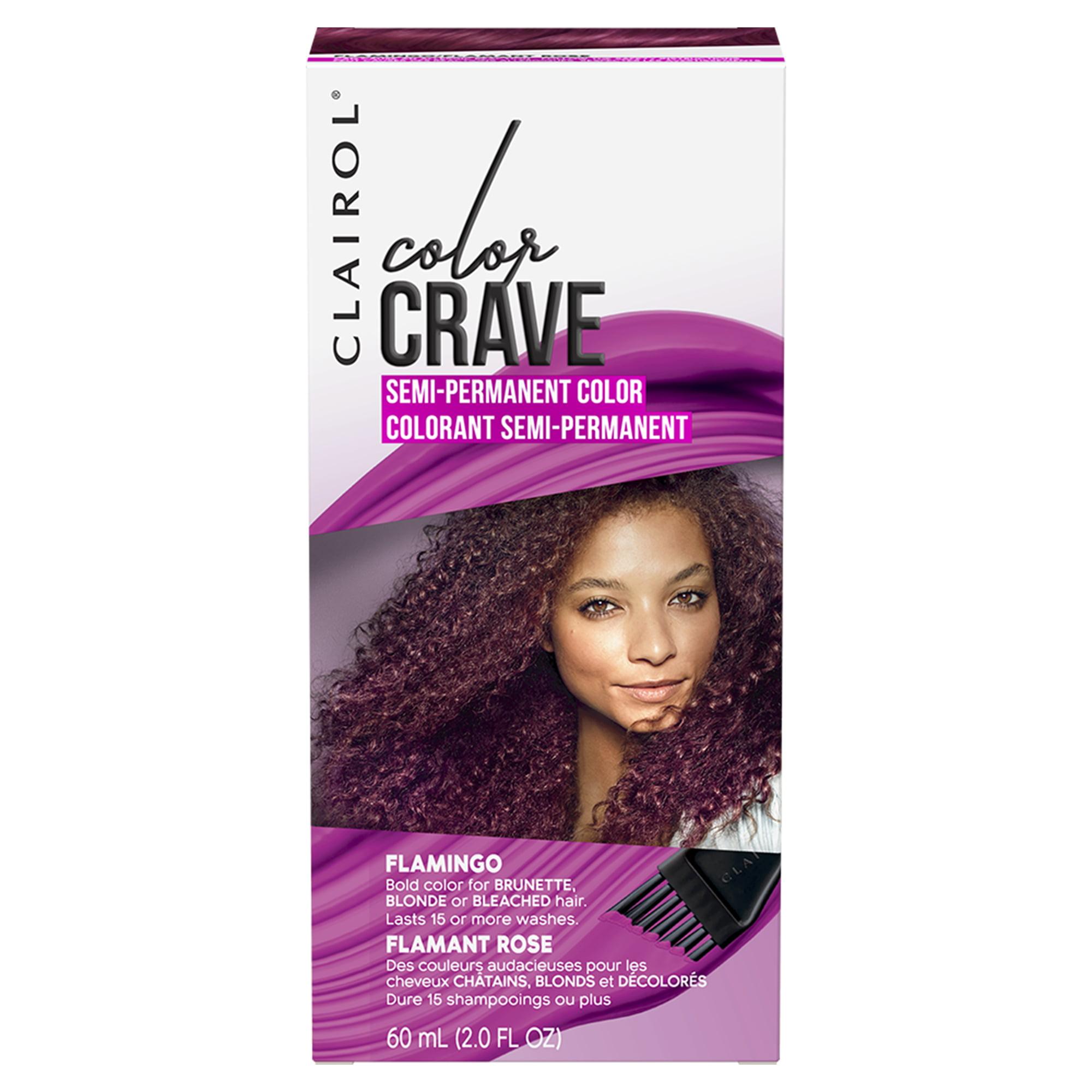Clairol Color Crave Semi-Permanent Hair Color, Flamingo