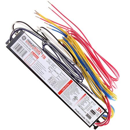 General Electric Ultrastart Ge332mvps N V03 75381 T8 Fluorescent Dimming Ballast  2 Lamp
