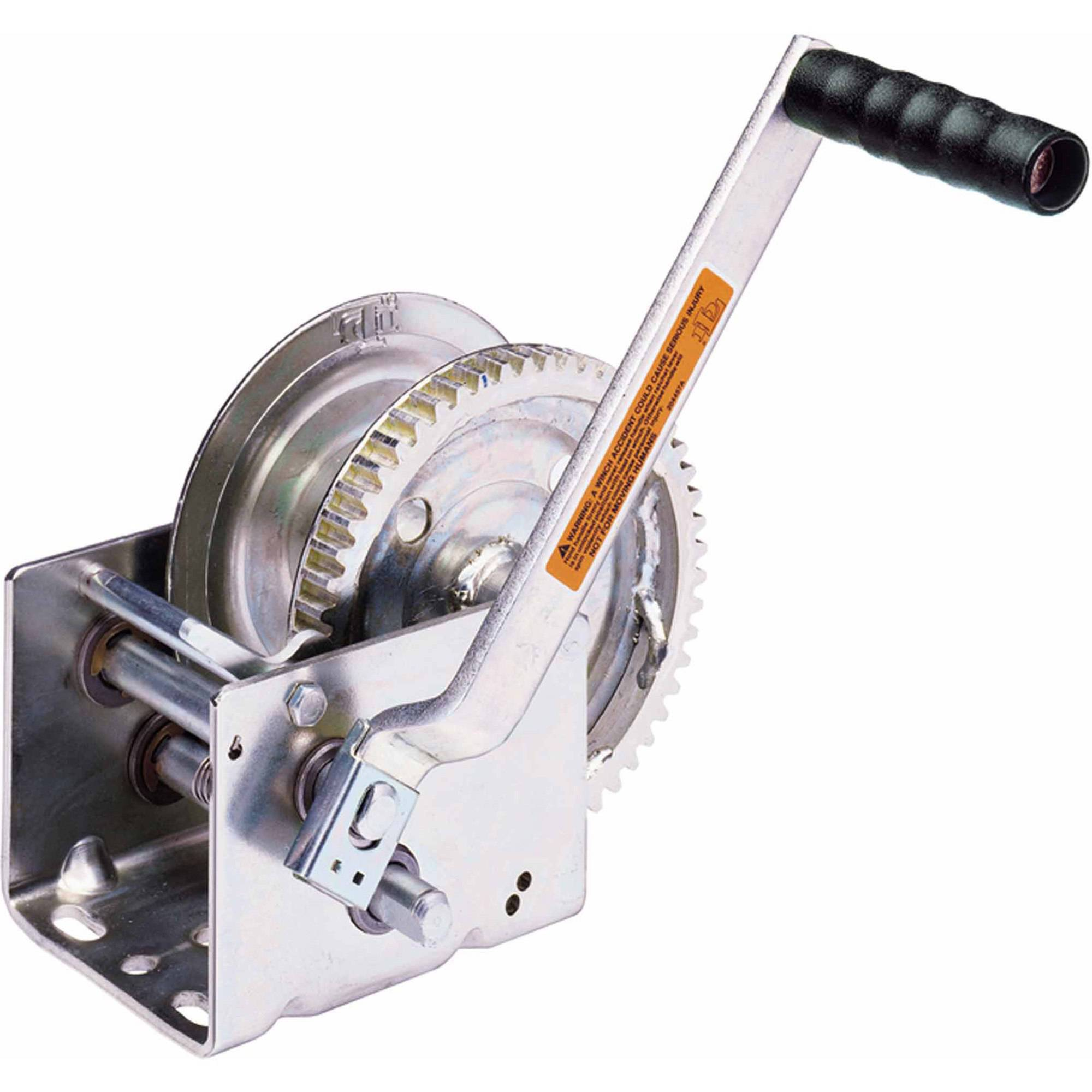 Dutton-Lainson 15502 Heavy-Duty Pulling Winch with Ratchet, 1800 lbs