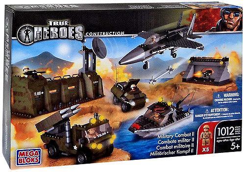 Mega Bloks True Heroes Construction Military Combat II Set by