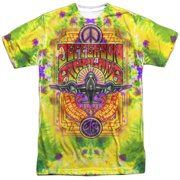 Jefferson Airplane Take Off (Front Back Print) Mens Sublimation Shirt