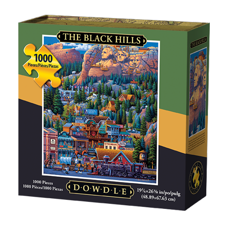 Dowdle Jigsaw Puzzle   The Black Hills   1000 Piece