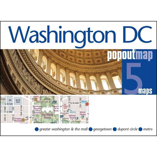 Popout Map Washington DC