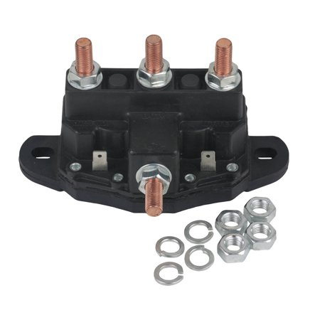 NEW RELAY WINCH MOTOR REVERSING SOLENOID SWITCH FITS 12 VOLT 24450BX 214-1211A51 ()