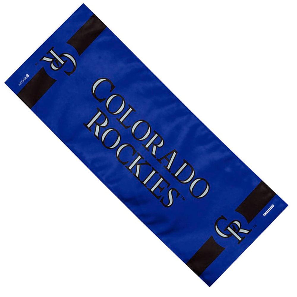 """Colorado Rockies WinCraft 12"""" x 30"""" Cooling Towel - No Size"""