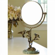 SPI Home BZ25407 Hummingbird & Flower Mirror