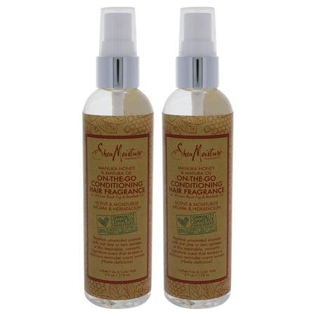 Manuka Honey and Mafura Oil On-The-Go Conditioner Hair Fragrance by Shea Moisture for Unisex - 4 oz S - Pack of 2
