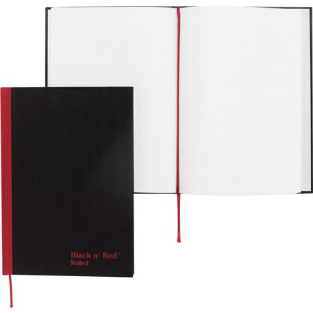 Black n' Red Casebound Ruled Notebooks - A5, 1 Each (Quantity)