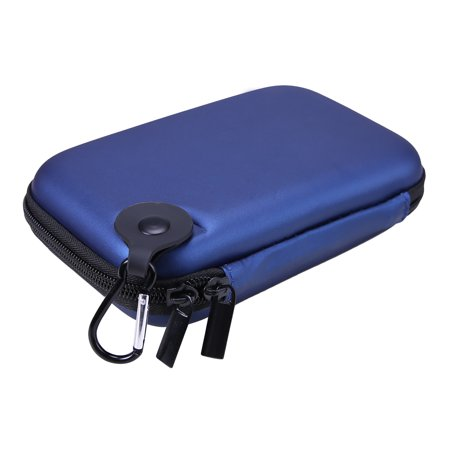 HDE Small Electronics Carrying Case Accessory Travel Organizer for Power Banks, Portable Hard Drives, GPS Units, Nintendo 3DS, DS
