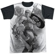 Masters Of The Universe B&W Mens Sublimation Shirt