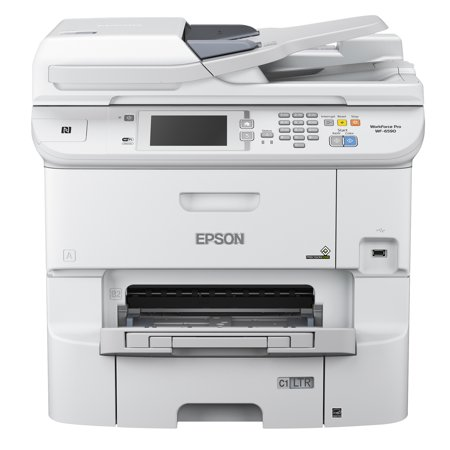 Epson Workforce Pro Wf 6590 Wireless Multifunction Color Printer  Copy Fax Print Scan