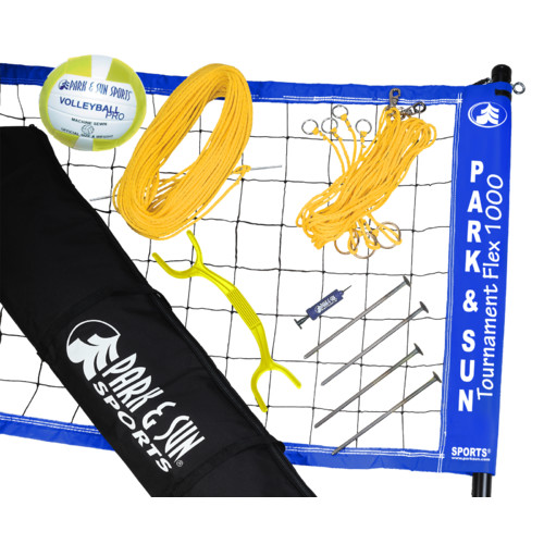 Park & Sun Tournament Flex 1000 Volleyball Game Set