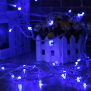 MeAddHome 10M 100LED 110V Waterproof Icicle LED String Lights Connectable with Tail Plug Home Outdoor Christmas Lights Decoration Festival Party Fairy Garland LED Strip