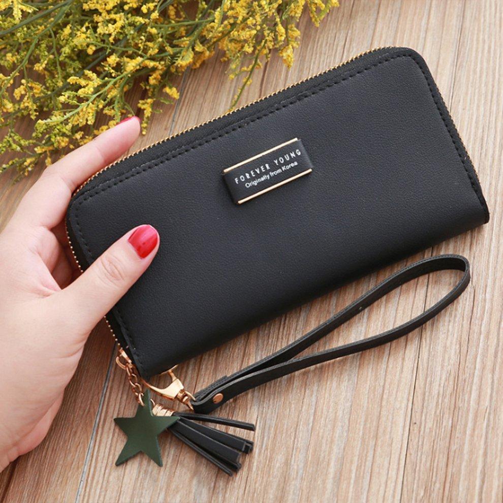 Women Long Clutch Wallet Large Capacity Ladies Purses Phone Pocket Card Holder