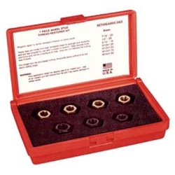 WHEEL STUD THREAD RESTORER KIT 7PC