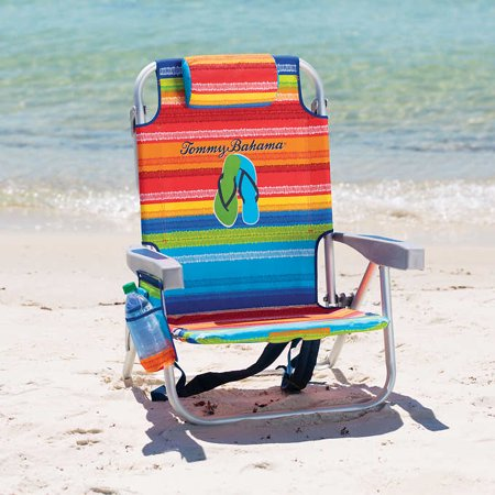 Tommy Bahama Backpack Cooler Beach Chair With Storage