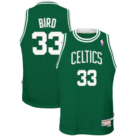 wholesale dealer 483c5 16320 Larry Bird Boston Celtics Mitchell & Ness Youth Hardwood Classics Swingman  Throwback Jersey - Kelly Green