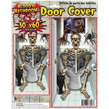 Open The Door To Halloween Hills (Forum Bathroom Skeleton on Toilet Halloween 30