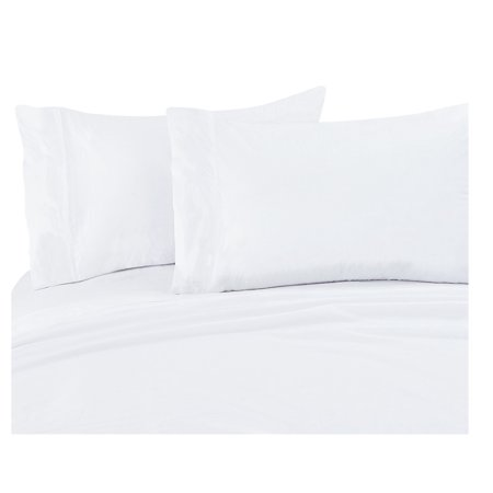 White 300 Thread Count Cotton Sheet Set Cal King