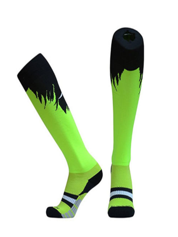 Anti-slip Sports Compression Socks Athletic Soccer Softball football Sock
